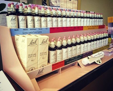 Bach Herbal Remedies Display