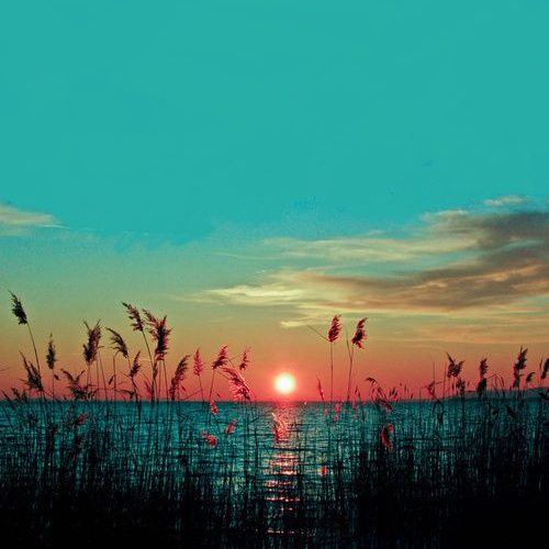 sunset-ocean-turquoise-sky