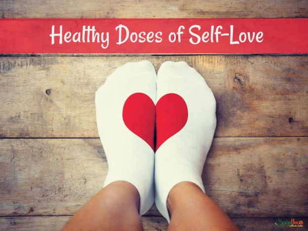 Healthy doses of self-love